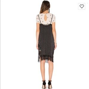 ae22215956b3 Free People Dresses - Free People Margot Slip-dress Black Combo NWT